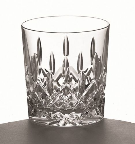 Galway Crystal Longford D.O.F. Whiskey Tumblers (Pair)